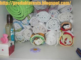 Favorit Handtücher- Bettwäsche - T-Shirts - Hemden rollen statt zusammenlegen OR91