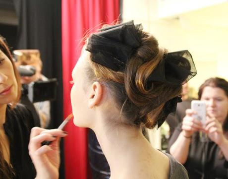 Fashion Week Berlin / Tag 2:Backstage bei Frida Weyer AW 13/14