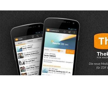 Theke: Die bessere ZDF-Mediathek für Android