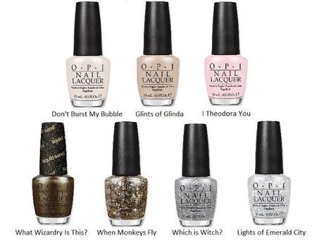 OPI Oz Great and Powerful Collection 2013 [Preview]