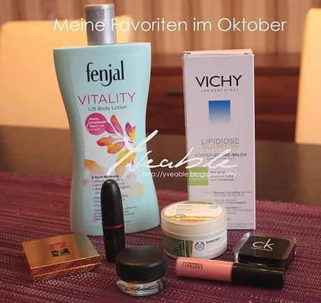 Favoriten im Oktober + ein Flop-Produkt