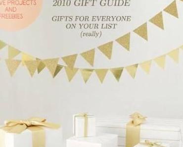 Ein toller Geschenke-Guide, denn Weihnachten rückt immer näher