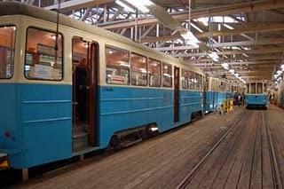 Historische Straßenbahnen in Göteborg
