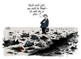 Verarschung des Tages: 'Gott' und Außerirdische waren an Ölpest im Golf schuld!