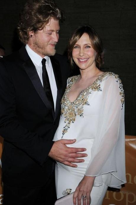 45488, NEW YORK, NEW YORK - Monday September 27, 2010. Renn Hawkey and wife Vera Farmiga poses for photographs as they arrive for the opening night production of Das Rheingold held at the Metropolitan Opera House in Lincoln Center, New York City. Photograph:  Darla Khazei, PacificCoastNews.com
