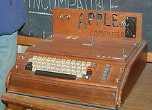 Auktion für Apple 1 mit Holz Gehäuse