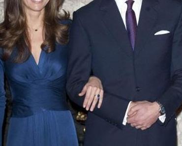 Kate Middleton: Prinz William gab ihr den Verlobungsring von Diana!