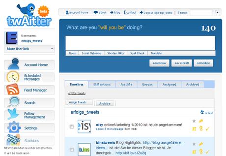Twaitter in 4 Twitter Tools für dein Business Account