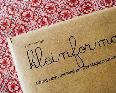 I´m quick get away... to the christmas issue by kleinformat...
