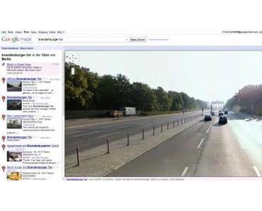 Street View endlich in Deutschland