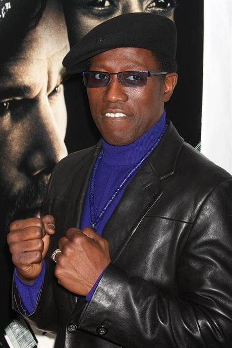 Mar. 02, 2010 - New York, New York, United States - WESLEY SNIPES arriving at the premiere of ''Brooklyn's Finest'' at AMC Loews Lincoln Square Theatre in New York City on 03-02-2010. 2010..K63736HMc. © Red Carpet Pictures