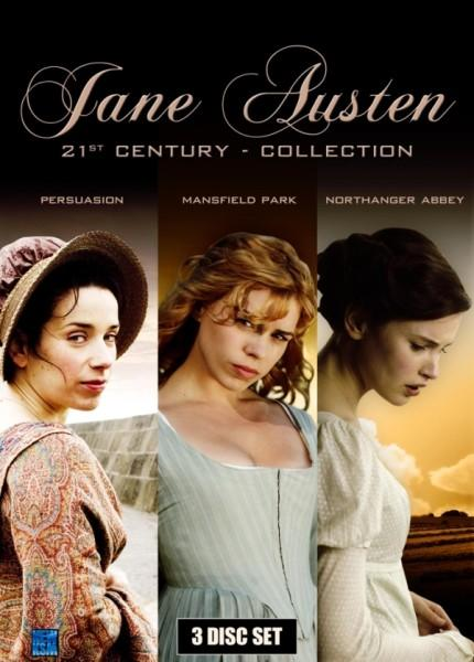 [DVD] Jane Austen: Persuasion, Mansfield Park, Northanger Abbey