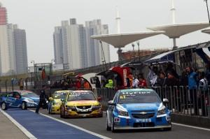 FIA WTCC Shanghai, China 02-04 November 2012