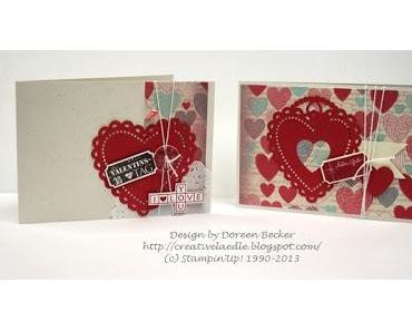 Hochzeit und Valentinskarten