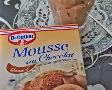 Ein (unfreiwilliger) Produkttest: Mousse au Chocolat von Dr. Oetker