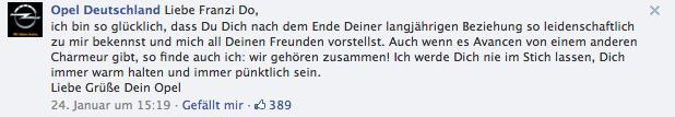Deutsche Bahn, Renault Deutschland und Opel im direkten Kundendialog auf Facebook