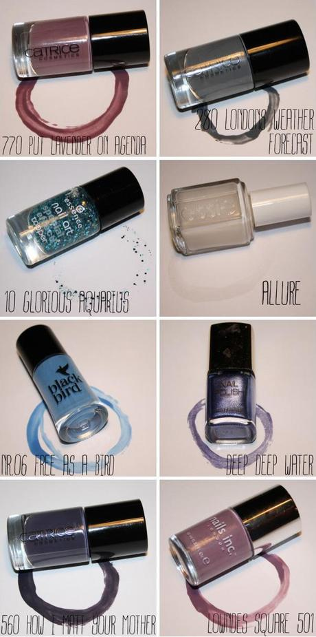 Winter Nail Lacquer Favorites