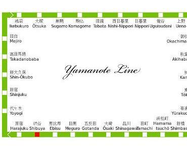 Yamanote Line in Tokio - Öffentliche Verkehrsmittel