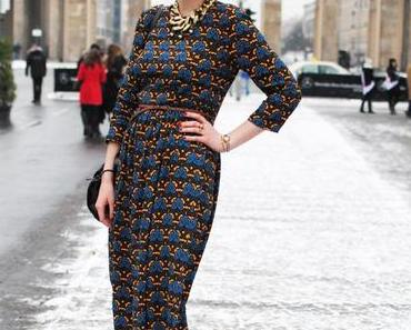 OUTFIT...Ear Muffs & Midi Kleid von Asos