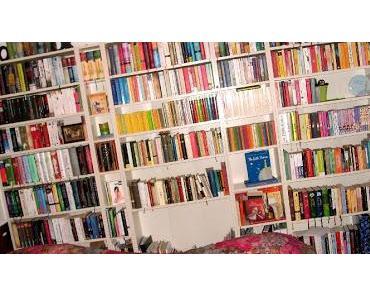 Sortierung im Bücherregal