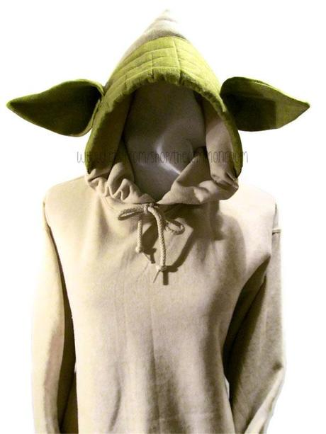 TheCommonRooms Yoda Kapuzenpulli _2