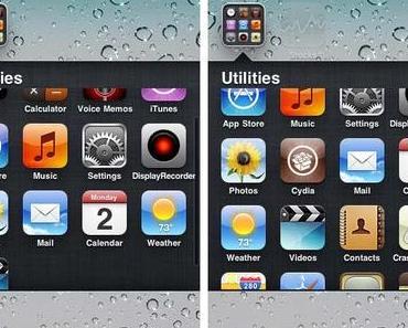 Cydia-Tweaks Zephyr, Infinifolders, Infinidock, Infiniboard sind iOS 6.1 kompatibel