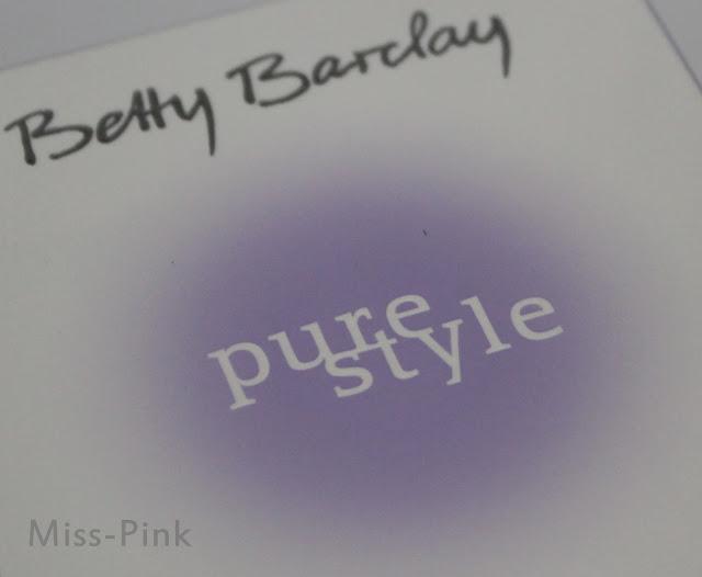 Kleine aufmerksamkeit von Schatzi ~ Betty Barclay pure style