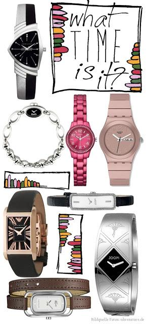 Wie spät ist es eigentlich? {Uhren-Trends 2013!}