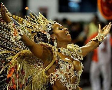 Karneval in Rio de Janeiro 2013
