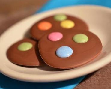 Süßes zu Karneval: Rezept für Schoko-Konfetti-Taler mit Smarties