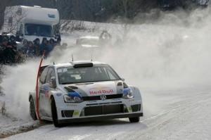 WRC: Volkswagen rückt dem Weltmeister auf die Pelle