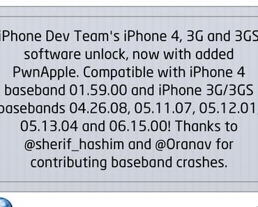 ultrasn0w 1.2.8 Unlock für iOS 6.1 veröffentlicht