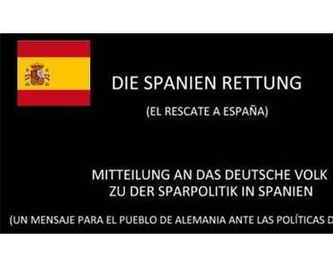 """""""Spanien-Rettung"""" – Eine Botschaft der Spanier"""