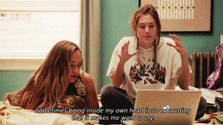 Watching GIRLS...