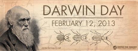 Kuriose Feiertage: 12. Februar - Darwin Day (c) 2013 - www.centerforinquiry.net