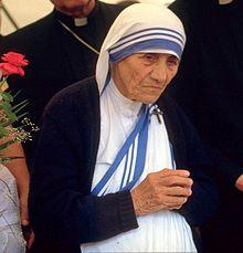 Mutter Teresa, die Heilige