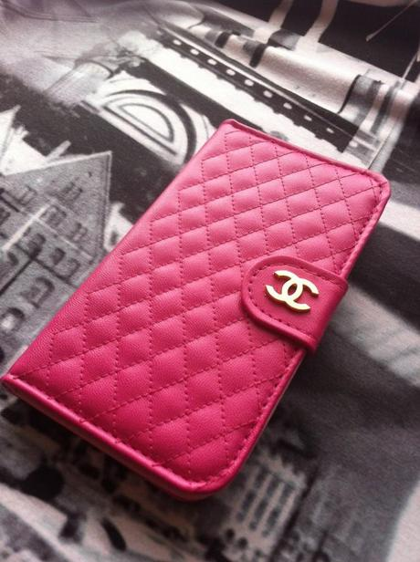 Fashion Handyhüllen – Chanel Samsung Galaxy S3 Ledertaschen