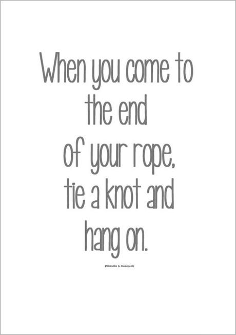 Quote Rope hang on