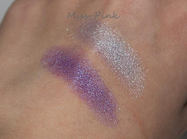 Mein Heutiges AMU - essence 3D eyeshadow 02 irresistible purr-ple
