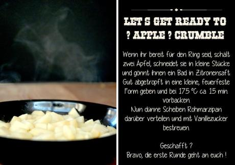 an apple a day {  let´s get ready to crumble }