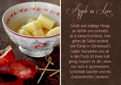 an apple a day {  Apple in Love }