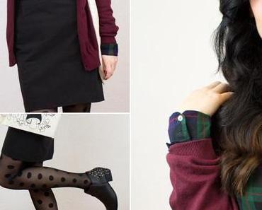 Outfit: Spot Thights meets Check Shirt
