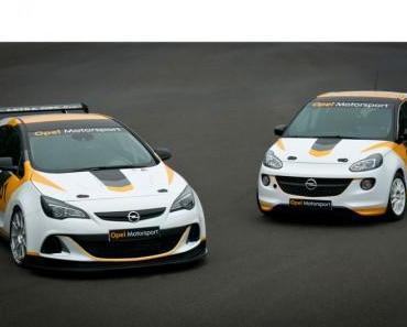 Opel Adam soll sich im internationalen Motorsport beweisen