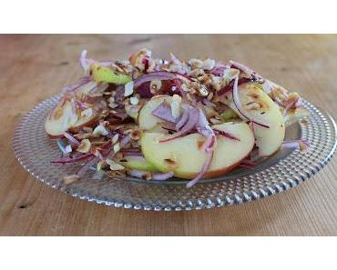 Apfel-Zwiebel-Salat