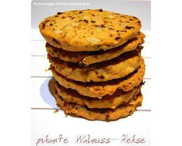 Pikante Walnuss-Kekse