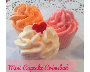 {frisch gemacht} vegane Mini-Cupcake Crémebäder