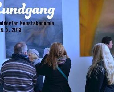 Rundgang in der Düsseldorfer Kunstakademie 2013