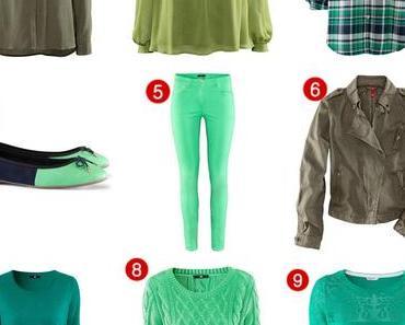"""""""grün, grün,grün sind alle meine Kleider""""..."""