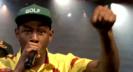 Tyler The Creator bei Jimmy Fallon Live