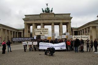 Kundgebung gegen das #LSR